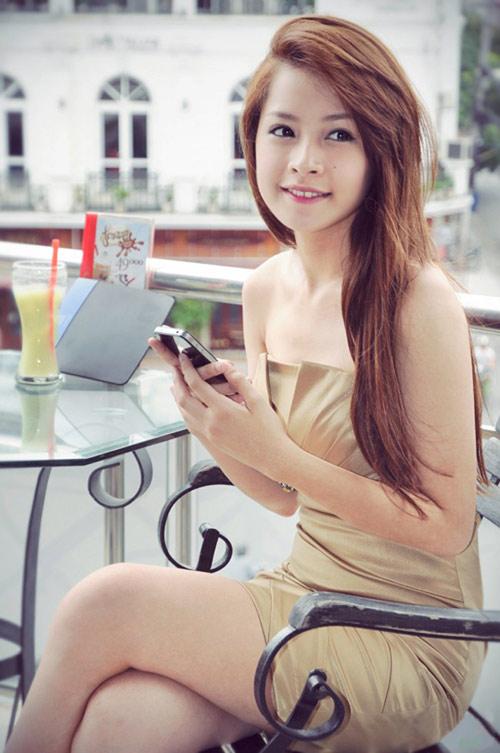 Vẻ Đẹp Ngây Ngất Của Hot Girl Chi Pu